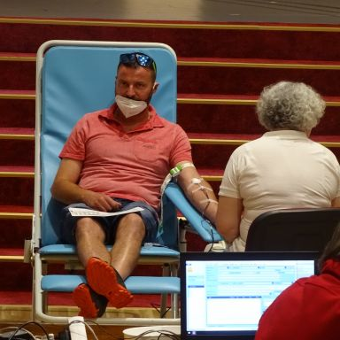 Výjazdový odber krvi v Lipanoch