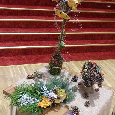 Výstava jesenných dekorácií