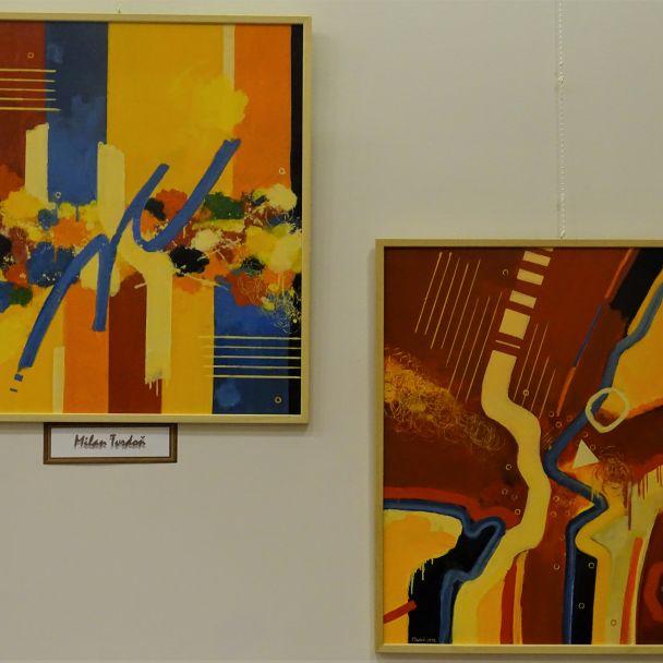 Jubilanti UBS v Lipanoch - výstava obrazov mestská galéria
