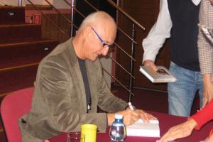 Spisovateľ Jozef Banáš v Lipanoch