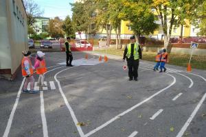 Dopravné hry s príslušníkmi polície